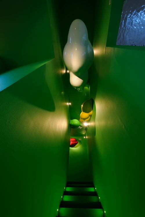 5-《七彩浮云》雕塑
