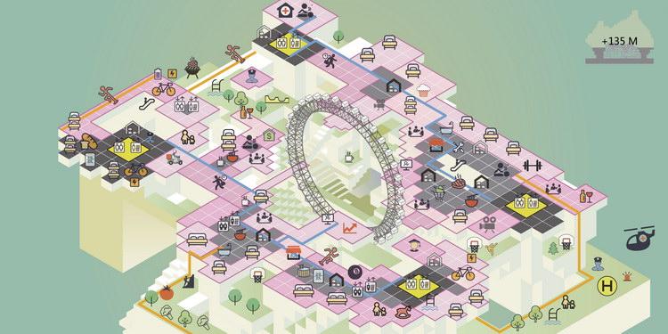 City Plan of 135m Height