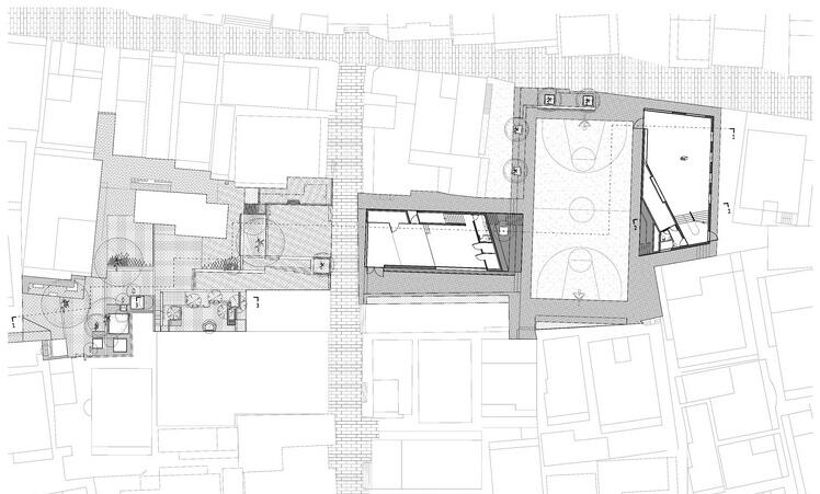 B Group_Ground Floor Plan of Cross Street Zone_180428