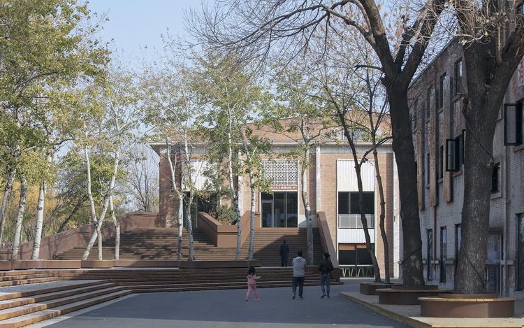 12-改造后展厅入口大楼梯