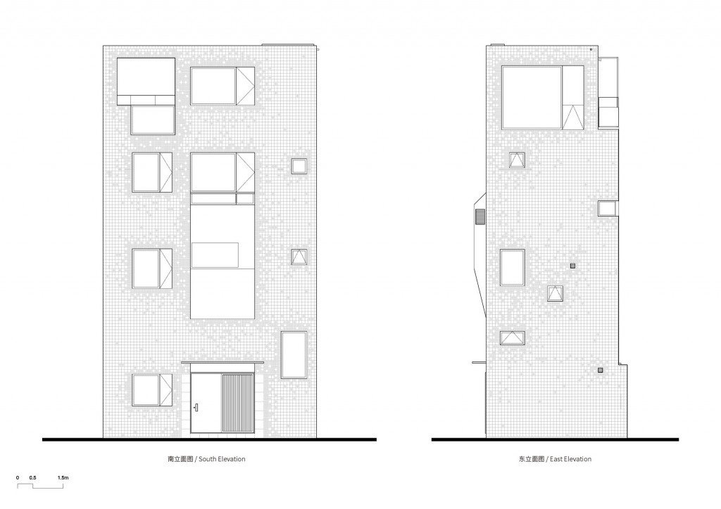 02-2-South & Eest Elevation