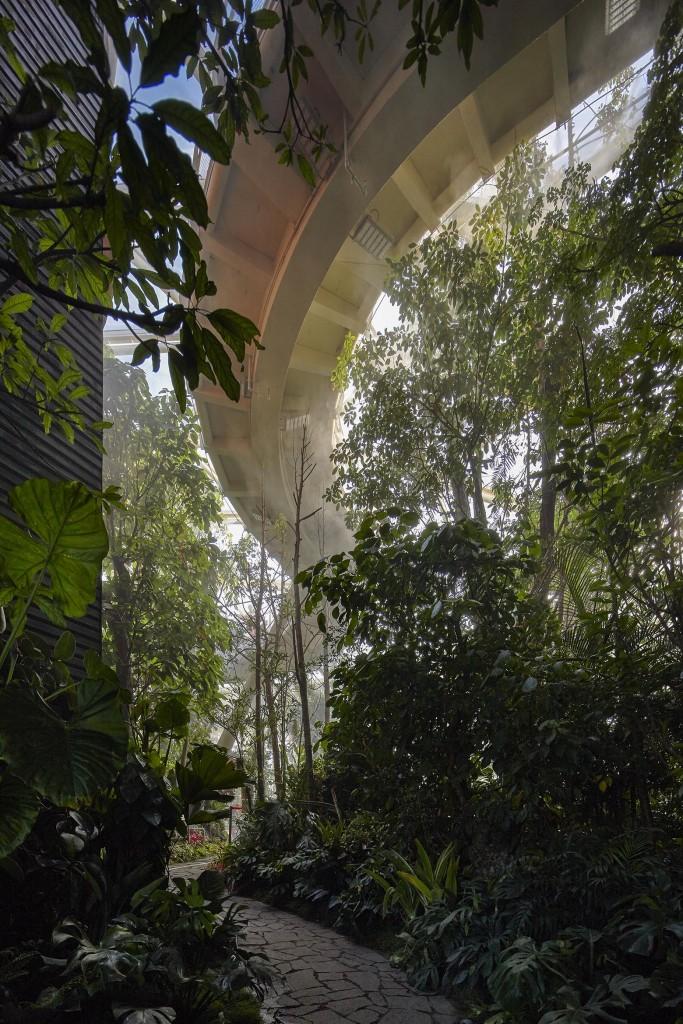 温室内空中步道1