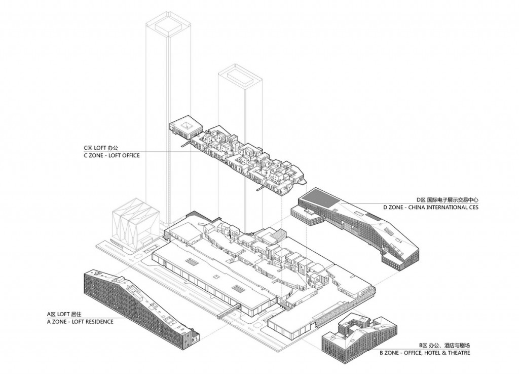 04_exploded axonometric_annotated 分解轴测图