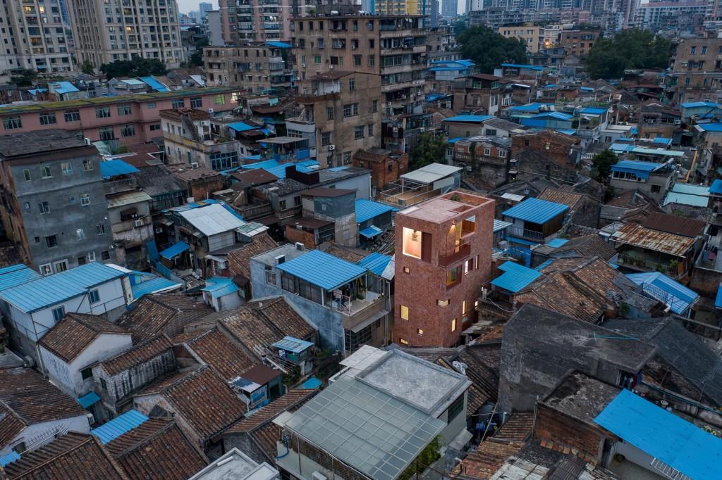 广州蒙圣住宅改造 鸟瞰 01 摄影_张超